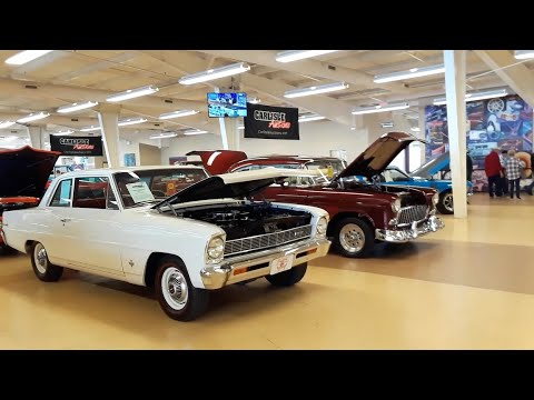 Classic Car Shopping With Pam At the 2020 Fall Carlisle Auction Chevy II, Brewster, Ford & More!
