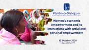 Women's economic empowerment and its interactions with social and personal empowerment