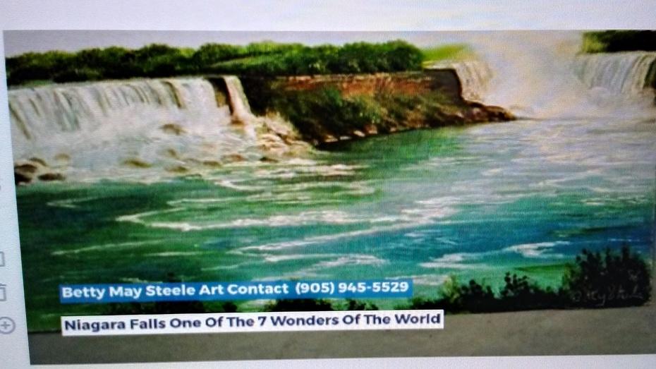 THE-STEELE-GALLERY-Betty-May-Steele-Art-Niagara-Falls-Oil-Painting PHOTO