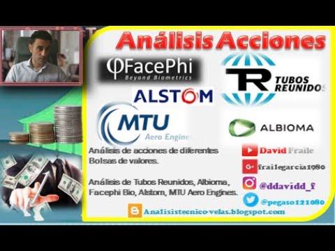 Video Análisis con David Fraile: Tubos Reunidos, Facephi Bio, Alstom, Albioma y MTU Aero Engines
