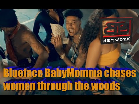 Blueface BabyMomma chases women through the woods
