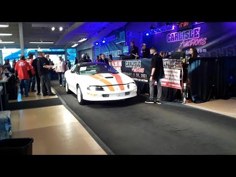 Tom Nurthen's 1997 Camaro SS Crosses the Block At the 2020 Fall Carlisle Auction