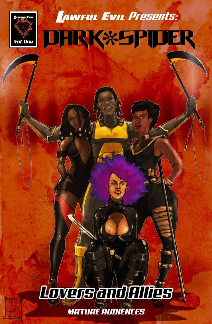 Dark Spider: Vol. 1: Lovers & Allies cover