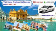 Visit Some Amritsar Sightseeing with Chiku Cab