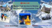 Book a Cab Service in Shimla for Local and Outstation Trip