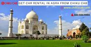 Get Car Rental in Agra from Chiku Cab