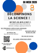 OA week 2020-2021 CY : déconfinons la science
