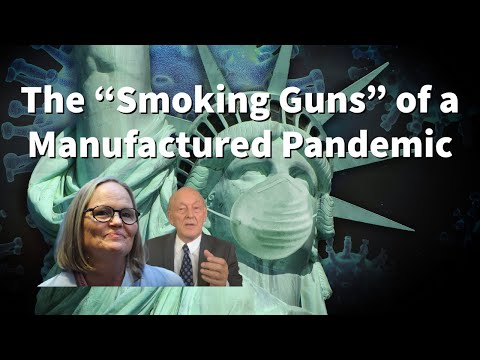 "The ""Smoking Guns"" of a Manufactured Pandemic - Kristina Borjesson and Prof. Michel Chossudovsky"