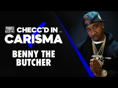 Benny The Butcher Feels Pressure When Compared To Jay-Z + Shares What He's Learned As A Girl Dad
