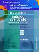 El rol docente del médico residente