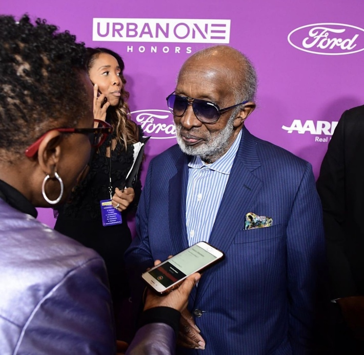 "Interviewing ""The Black Godfather"", Clarence Avant"