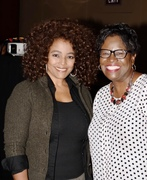 On Capitol Hill with actress Kim Fields