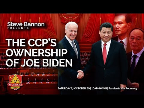War Room: Pandemic Ep 443 -The CCP's Ownership of Joe Biden