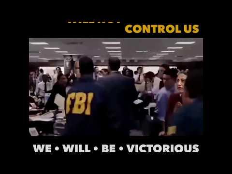 Trump Defeats the Deep State, meme parody