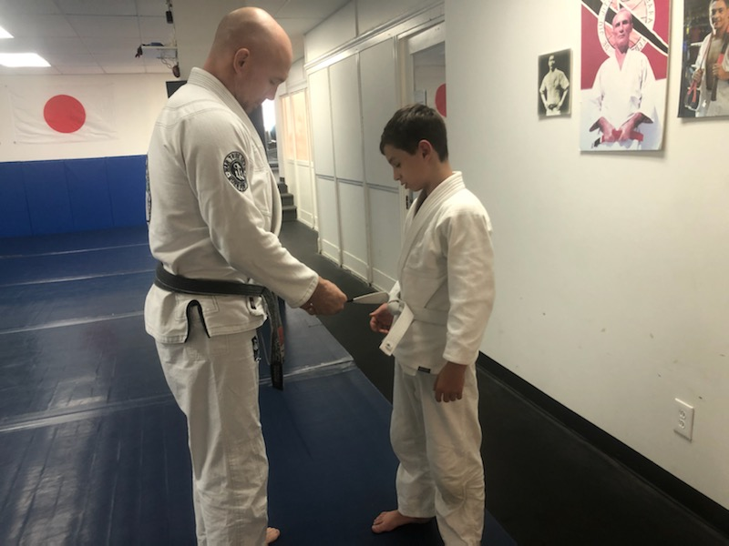 Brad earns his second stripe!