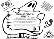 Trunk or Treat at Streets Smokehouse Boathouse