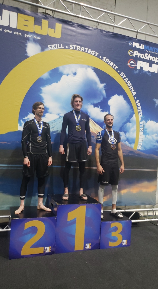 Max takes first in no-gi