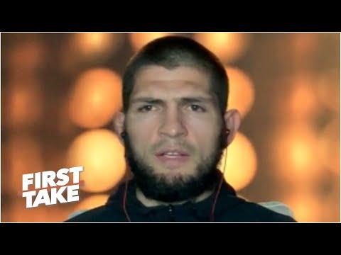 Khabib Nurmagomedov previews fight vs. Justin Gaethje at UFC 254 | First Take