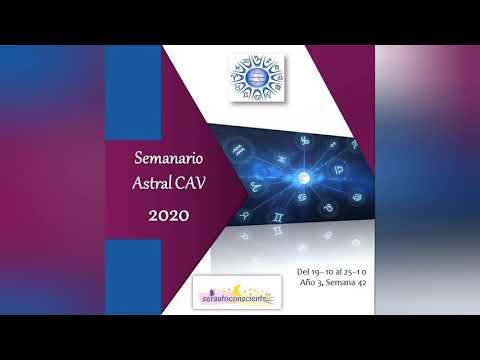 Semanario Astral CAV Octubre 2020 Semana 42