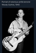 Woody Guthrie 1940