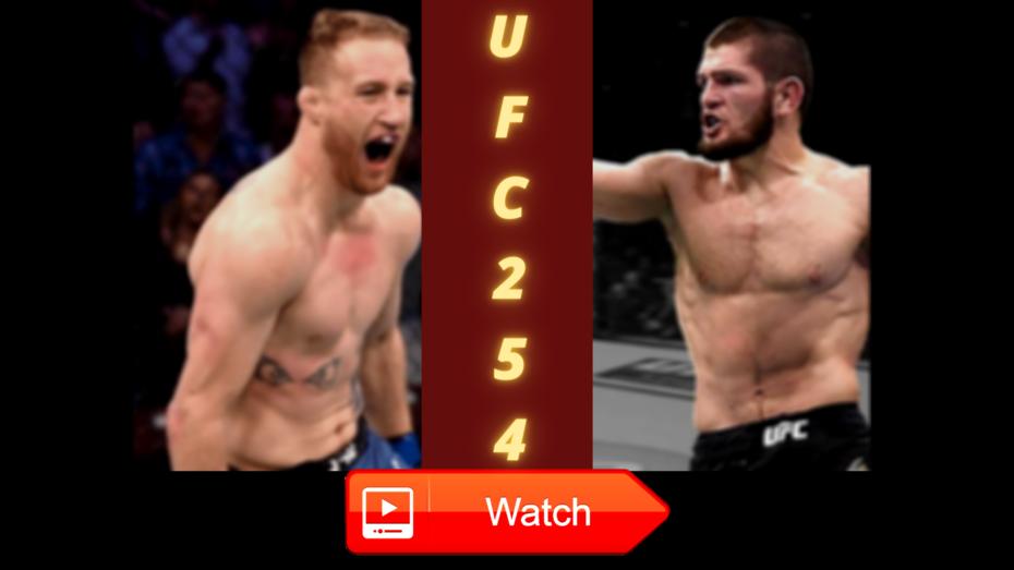How To Watch Khabib Nurmagomedov vs. Justin Gaethje Live Stream Free Online Full Fight on 24 October