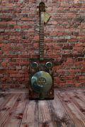 """#159 Cigar Box Banjo """"Frankie"""""""