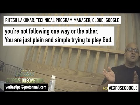"""Google Program Manager: Google """"Trying to Play God"""" via """"Drivers of Algorithms"""" In 2020 Election"""
