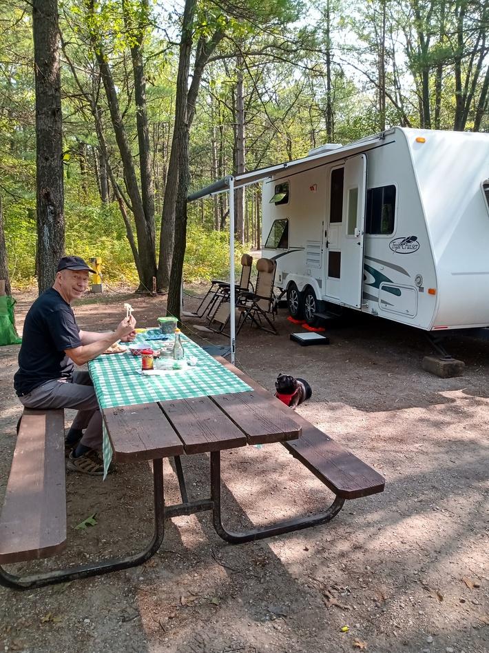 Pinery Provincial Park, on Lake Huron