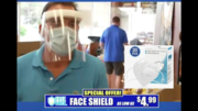 Mask and Shield Double your safety