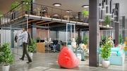 Návrh interiéru administratívnych priestorov v Poprade