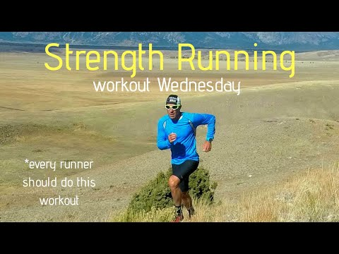 STRENGTH RUNNING: Every Runner Should Do this Workout (Workout Wednesday - follow along)