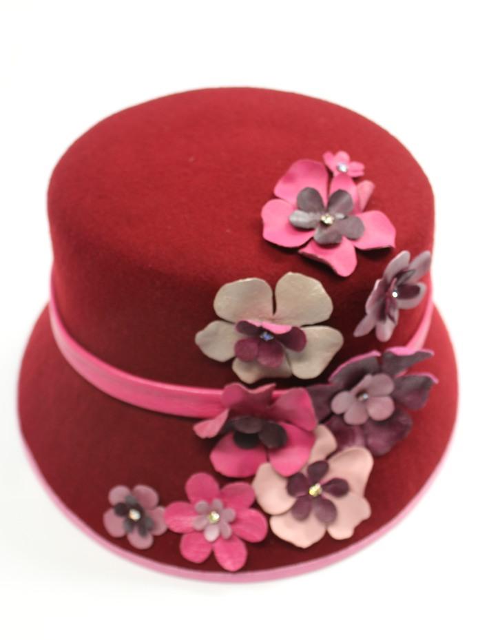 Burgandy Winter Hat