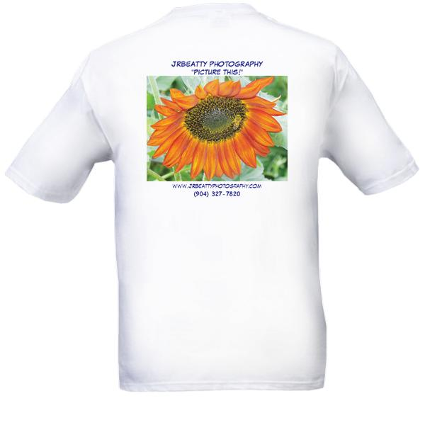 "Sunflower Bee ""BAY-TEE"" Shirt - Custom Photo Gift"