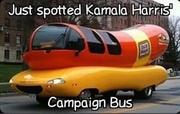 Kamala's Campaign Bus