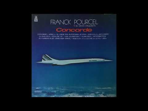 CONCORDE  - LONG PLAY -  FRANCK POURCEL