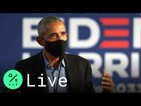 LIVE: Obama Delivers Remarks at Biden Drive-In Campaign Rally in Philadelphia