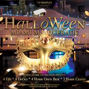 Miami Halloween Night Party Cruise