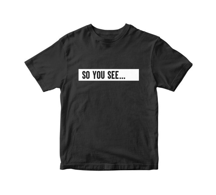 Dhar mann so you see t shirt