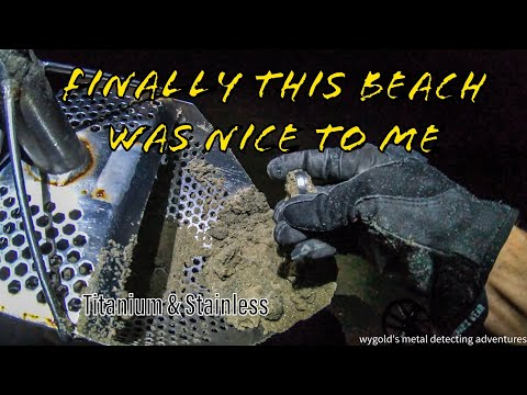 Beach Metal Detecting - Beach Cursed or Just Pure Luck? Titanium & Stainless Rings
