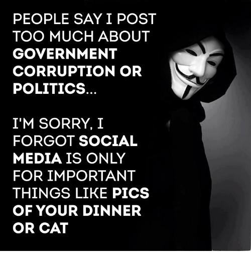 People say...
