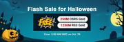 RSorder Halloween Flash Sale
