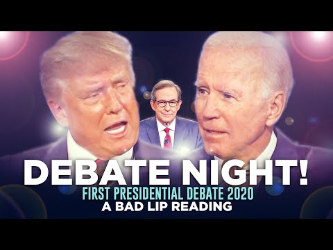 """DEBATE NIGHT 2020!"" — A Bad Lip Reading of the First Presidential Debate of 2020"
