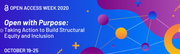 International Open Access Week | 19th to 25th October 2020