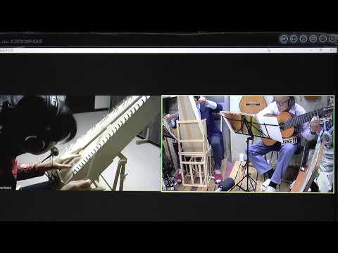 Syncroom & Zoom で演奏!Psaltery & Guitar『おばば』