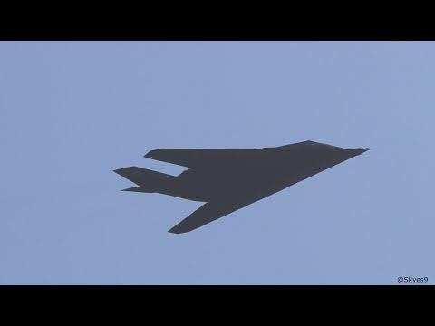 2x F-117s Depart MCAS Miramar 22 Oct 2020