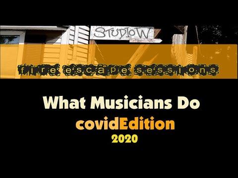Fire Escape Sessions: What Musicians Do Covid Edition 2020