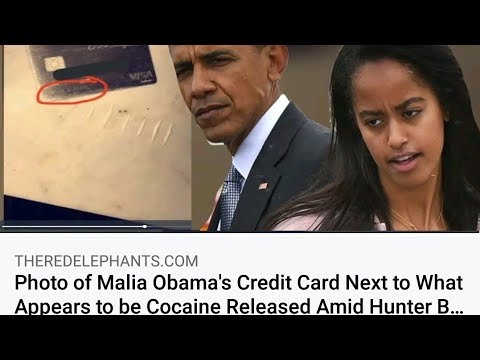 Malia Obama, Hunter Biden and Cocaine?