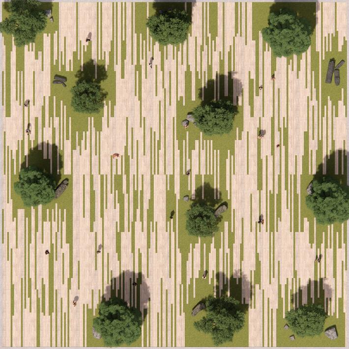 Wood Plank Landscape