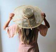 Daisy Fay | lightweight woven sisal straw derby hat