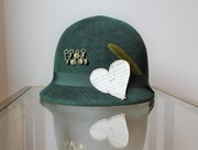 Stay Wild | emerald green cloche